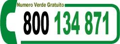 Numero Verde 800-134871